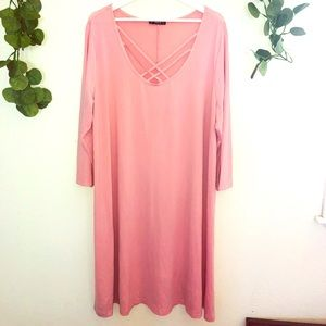 Shein 3XL Pale Pink beautiful dress.